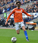 Diego Fabbrini during the Sky Bet Championship match between Bolton Wanderers and Birmingham City at the Macron Stadium, Bolton, England on 2 May 2015. Photo by Mark Pollitt.