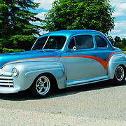 1947 Custom Ford 2 door Coupe