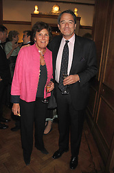 LADY AMABEL LINDSAY and CHARLES GLASS at a reception to launch the Knight of Glin's book 'Irish Furniture' and Harry Erne's book 'Freddy Lond Ears' held at Christie's, 8 King Street, London SW1 on 3rd May 2007.<br />