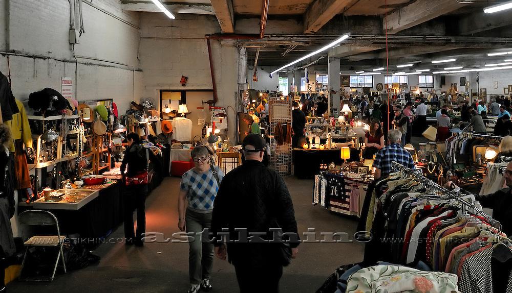 New York City Flea Market.