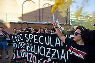 Roma 7 Settembre 2013<br /> Manifestazione contro lo sgombero dell'ex fonderia Bastianelli che ha avuto luogo il 16 agosto, nel quartiere di San Lorenzo. COMMUNIA Project  è stato creato per fermare un progetto speculativo.<br /> Rome September 7, 2013<br /> Demonstration against the eviction of the former foundry Bastianelli that took place on August 16, in the distric San Lorenzo. Communia Project  was created to stop a speculative project.