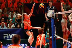 20180529 NED: Volleyball Nations League Netherlands - Poland, Apeldoorn<br />Maret Balkestein - Grothues (6) of The Netherlands <br />©2018-FotoHoogendoorn.nl