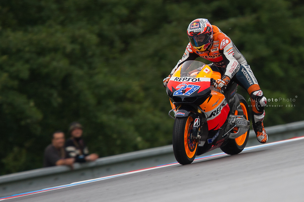 2011 MotoGP World Championship, Round 11, Brno, Czech Republic, 14 August 2011, Casey Stoner