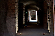 Commemoration for the 72th anniversary of the massacre  Fosse Ardeatine, made in Rome by the occupation troops of Nazi Germany, the  March 24, 1944, were killed, 335 civilians and Italian soldiers. Pictured: The cave of massacre .Rome Italy. March 23, 2016.