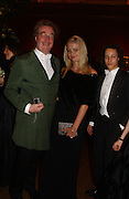 Christopher Simon Sykes, Lady Mornington, Zain Alatas , Belle Epoche gala fundraising dinner. National Gallery. 16 March 2006. ONE TIME USE ONLY - DO NOT ARCHIVE  © Copyright Photograph by Dafydd Jones 66 Stockwell Park Rd. London SW9 0DA Tel 020 7733 0108 www.dafjones.com