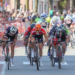 31-08-2018: Wielrennen: Ladies Tour: Weert <br /> De DeenseAmalie Dideriksen wint de etappe Straproy-Weert