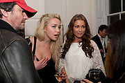 SCOTT YOUNG; NOELLE RENO; JAYNE BLIGHT, Book launch for Isabella Blow- A Life in Fashion. Book by Lauren Goldstein Crowe. Henrietta St. London. 23 February 2011. -DO NOT ARCHIVE-© Copyright Photograph by Dafydd Jones. 248 Clapham Rd. London SW9 0PZ. Tel 0207 820 0771. www.dafjones.com.