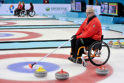 Gregor Ewan, Wheelchair Curling Semi Finals at the 2014 Sochi Winter Paralympic Games, Russia