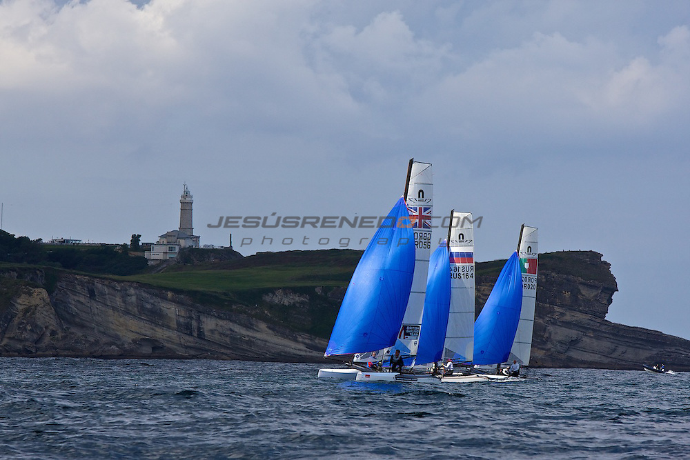 CIUDAD DE SANTANDER Trophy, Isaf sailing World Championships test event. Day 3