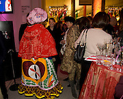 GRAYSON PERRY, Magnificence Of The Tsars - exhibition<br />Victoria & Albert Museum, Cromwell Road, London, SW7. 9 December 2008 *** Local Caption *** -DO NOT ARCHIVE -Copyright Photograph by Dafydd Jones. 248 Clapham Rd. London SW9 0PZ. Tel 0207 820 0771. www.dafjones.com