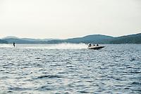 Winni Skiathon from Winnipesaukee Yacht Club Saturday, July 20, 2013.  Karen Bobotas Photographer