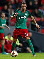 FOOTBALL: Dmitri Tarasov (Lokomotiv Moskva) during the UEFA Europa League Group F match between FC København and FC Lokomotiv Moskva at Parken Stadium, Copenhagen, Denmark on September 14, 2017. Photo: Claus Birch
