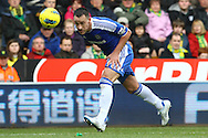 Picture by Paul Chesterton/Focus Images Ltd.  07904 640267.21/01/12.John Terry of Chelsea in action during the Barclays Premier League match at Carrow Road Stadium, Norwich.
