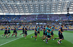 30.06.2012, Olympia Stadion, Kiew, UKR, UEFA EURO 2012, Italien, Training, im Bild allenamento italia (Italia) // during the EURO 2012 Trainingssession of Italian national team, at the Olympic Stadium, Kiev, Ukraine on 2012/06/30. EXPA Pictures © 2012, PhotoCredit: EXPA/ Insidefoto/ Alessandro Sabattini..***** ATTENTION - for AUT, SLO, CRO, SRB, SUI and SWE only *****