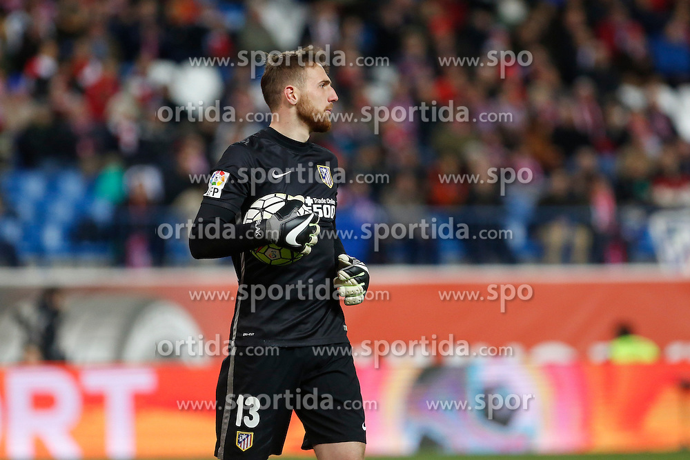 12.03.2016, Estadio Vicente Calderon, Madrid, ESP, Primera Division, Atletico Madrid vs RC Deportivo La Coruna, 29. Runde, im Bild Atletico de Madrid&acute;s Oblak // during the Spanish Primera Division 29th round match between Atletico Madrid and RC Deportivo La Coruna at the Estadio Vicente Calderon in Madrid, Spain on 2016/03/12. EXPA Pictures &copy; 2016, PhotoCredit: EXPA/ Alterphotos/ Victor Blanco<br /> <br /> *****ATTENTION - OUT of ESP, SUI*****