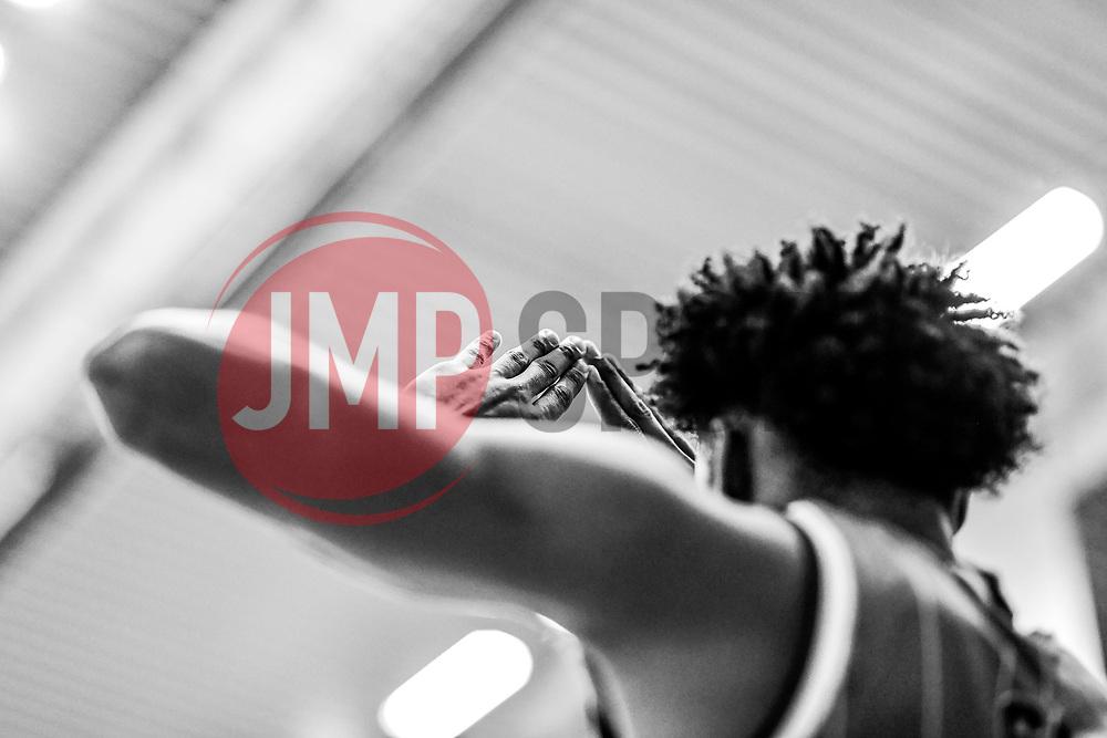 Justin Gray of Bristol Flyers - Photo mandatory by-line: Ryan Hiscott/JMP - 03/11/2018 - BASKETBALL - SGS Wise Arena - Bristol, England - Bristol Flyers v Newcastle Eagles - British Basketball League Championship