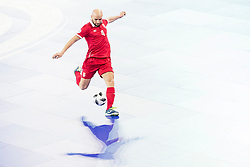 Stefan Rakic of Serbia during futsal quarter-final match between National teams of Kazakhstan and Serbia at Day 7 of UEFA Futsal EURO 2018, on February 5, 2018 in Arena Stozice, Ljubljana, Slovenia. Photo by Urban Urbanc / Sportida