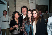 SIMON BURSTEIN; DORIANE WALTINNE; SALOME BURSTEIN; , Browns Club Monaco launch. hosted by Lou Doillon, at the Schools of the Royal Academy of Art. Piccadilly, London. 19 February 2010.  .-DO NOT ARCHIVE-© Copyright Photograph by Dafydd Jones. 248 Clapham Rd. London SW9 0PZ. Tel 0207 820 0771. www.dafjones.com.