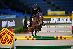 De Luca, Lorenzo (ITA) Unestar de Cerisy<br /> Stuttgart - German Masters 2016<br /> © www.sportfotos-lafrentz.de