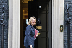 © Licensed to London News Pictures. 07/03/2017. London, UK. Home Secretary Amber Rudd on Downing Street. MPs will vote today, Tuesday 7 March 2017, on re-opening the Dubs scheme for the resettlement of child refugees from across Europe in Britain. Photo credit: Rob Pinney/LNP