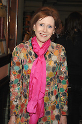 MARJORIE WALLACE at the 2008 Oldie of The year Awards and lunch held at Simpsons in The Strand, London on 11th March 2008.<br />