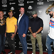 Twinzz attend the Official launch party for the annual Gumball 3000 Rally took place at Proud Embankment on August 4 2018, London, UK.