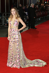 Suki Waterhouse, Pride And Prejudice And Zombies - European Film Premiere,  Leicester Square, London UK, 1 February 2016, Photo by Richard Goldschmidt /LNP © London News Pictures