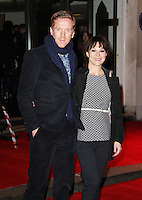 Damian Lewis; Helen McCrory, The Book Of Mormon - opening night, Prince of Wales Theatre, London UK, 21 March 2013, (Photo by Richard Goldschmidt)