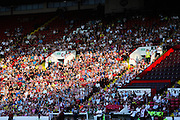 Sheffield United fans - Sheffield United v Dundee, pre season friendly at Bramall Lane<br /> <br />  - &copy; David Young - www.davidyoungphoto.co.uk - email: davidyoungphoto@gmail.com