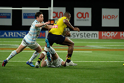 January 8, 2018 - Nanterre, Hauts de Seine, France - Clermont Fullback PECELI YOTO in action during the French rugby championship Top 14 match between Racing Metro 92 and Clermont at U Arena Stadium in Nanterre - France.Racing won 58-6 (Credit Image: © Pierre Stevenin via ZUMA Wire)