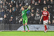 Aynsley Pears (42) of Middlesbrough during the EFL Sky Bet Championship match between Fulham and Middlesbrough at Craven Cottage, London, England on 17 January 2020.