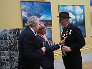 RICHARD BURDETT; SIR ANISH KAPOOR; BOB AND ROBERTA SMITH,  Royal Academy of Arts Annual Dinner. Burlington House, Piccadilly. London. 6 June 2017