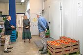 Koningin Maxima bezoekt Voedselbank Delft