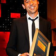 NLD/Amsterdam/20100527 - Uitreiking Zilveren Nipkowschijf 2010 , Sander van der Pavert ontvangt Eervolle vermelding 2010 voor Lucky TV