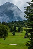 SEEFELD Tirol   Oostenrijk,  - Golfclub Seefeld Wildmoos.    COPYRIGHT KOEN SUYK