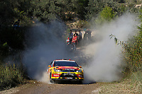 MOTORSPORT - WORLD RALLY CHAMPIONSHIP 2010 - RALLY RACC CATALUNYA COSTA DAURADA / RALLY DE ESPANA / RALLYE D'ESPAGNE - SALOU (SPA) - 21 TO 24/10/10 - PHOTO : FRANCOIS BAUDIN / DPPI - <br /> SOLBERG PETTER (NOR) / PATTERSON CHRIS (GBR) - CITROËN C4 WRC - PETTER SOLBERG WRT - ACTION