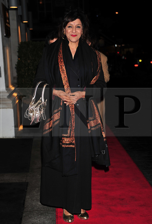 © Licensed to London News Pictures. 18/01/2012. London, England. Meera Syall attends the Daily Mail Inspirational Women awards 2012 at the Marriot Grosvenor Hotel London  Photo credit : ALAN ROXBOROUGH/LNP