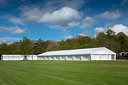 Henley on Thames. United Kingdom.   2018 Henley Royal Regatta, Henley Reach. <br />   <br /> Course Construction: Tented Area, <br /> <br /> Wednesday  25/04/2018<br /> <br /> [Mandatory Credit: Peter SPURRIER:Intersport Images]<br /> <br /> LEICA CAMERA AG  LEICA Q (Typ 116)  f1.7  1/16000sec  35mm  42.5MB