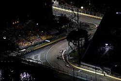 Motorsports / Formula 1: World Championship 2010, GP of Singapore,  circuit, 10 Nico Huelkenberg (GER, AT&T Williams),  03 Michael Schumacher (GER, Mercedes GP Petronas),