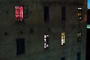 An apartment building in Nairobi city center, kenya