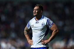 Jack Lam of Samoa - Mandatory byline: Patrick Khachfe/JMP - 07966 386802 - 20/09/2015 - RUGBY UNION - Brighton Community Stadium - Brighton, England - Samoa v USA - Rugby World Cup 2015 Pool B.