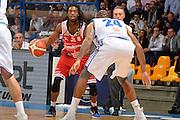 Thornton Marcus<br /> Red October Cantu' - Consultinvest Pesaro<br /> LegaBasket 2016/2017<br /> Desio 13/10/2016<br /> Foto Ciamillo-Castoria