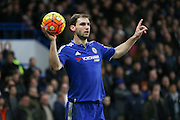 Chelsea's Branislav Ivanovic during the Barclays Premier League match between Chelsea and Manchester United at Stamford Bridge, London, England on 7 February 2016. Photo by Ellie Hoad.