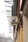 Signage Krakow, Poland