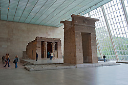 Egyptian Temple of Dendur at Metropolitan Museum of Art in Manhattan , New York City, USA
