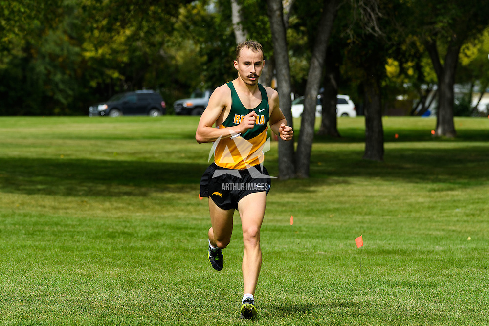 Marc Turmel competes during the annual Cougar Trot on September 17 at Douglas Park. Credit: Arthur Ward/Arthur Images