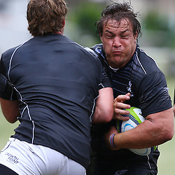 DURBAN, SOUTH AFRICA, Monday 11,January 2016 - Coenie Oosthuizen during The Cell C Sharks Pre Season training Monday 11th January 2016,for the 2016 Super Rugby Season at Growthpoint Kings Park in Durban, South Africa. (Photo by Steve Haag)<br /> images for social media must have consent from Steve Haag