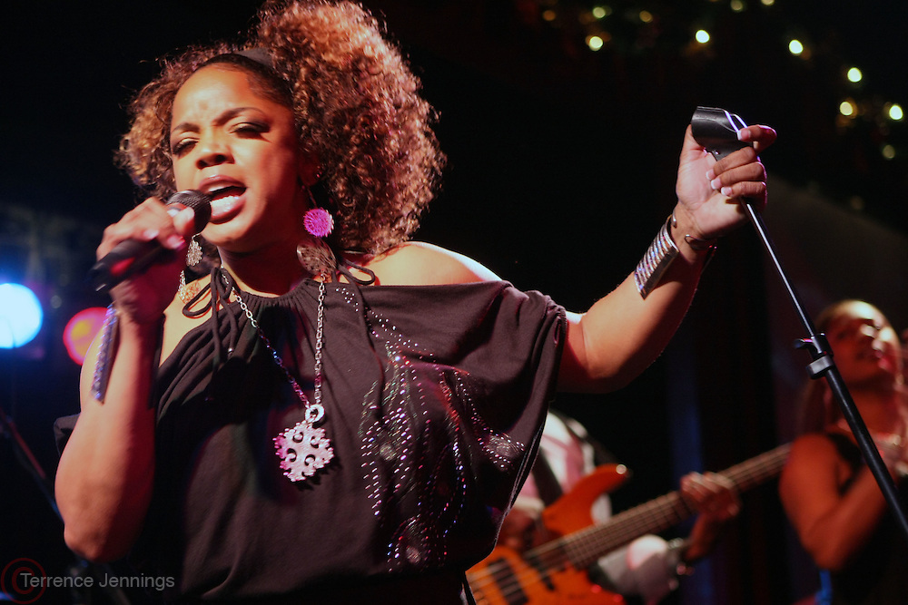 Leela James at Leela James Produced by Jill Newman Productions held at BB KINGS on December 30, 2008 in New York City..