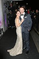 Helen McCrory; Damian Lewis, London Evening Standard Theatre Awards, The Savoy Hotel, London UK, 17 November 2013, Photo by Richard Goldschmidt