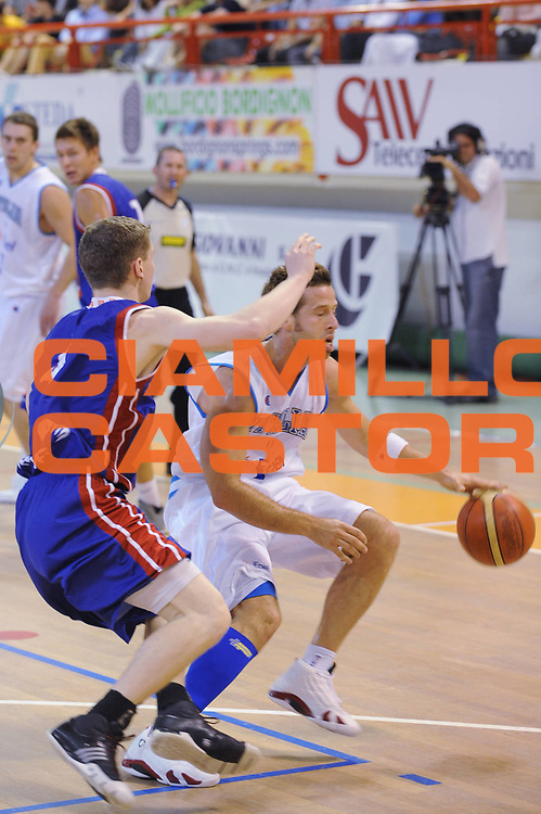 DESCRIZIONE : Nassano del Grappa Trofeo Saiv telecomunicazioni Amichevole Italia Repubblica Ceka<br /> GIOCATORE : Robert Fultz<br /> SQUADRA : Nazionale Italia Uomini<br /> EVENTO : Torneo Internazionale<br /> GARA : Italia Repubblica Ceka<br /> DATA : 04/06/2008<br /> CATEGORIA :  Palleggio<br /> SPORT : Pallacanestro<br /> AUTORE : Agenzia Ciamillo-Castoria/M.Gregolin